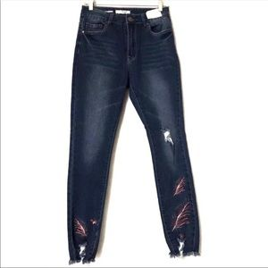High waisted skinny jeans size 9 Jrs NEW